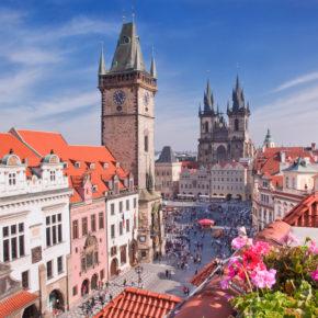 Städtetrip am Wochenende: 2 Tage in Prag im guten 4* Hotel nur 26€