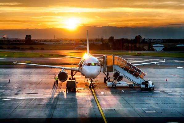Flugzeug Terminal