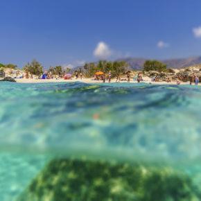Frühbucher: 7 Tage Kreta im TOP 4* Hotel mit Halbpension, Flug & Transfer nur 277€