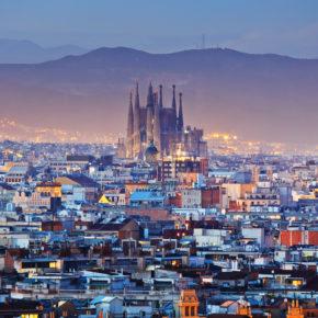 Tagestrip: Hin- und Rückflüge nach Barcelona für 72€