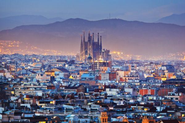 Barcelona Stadt