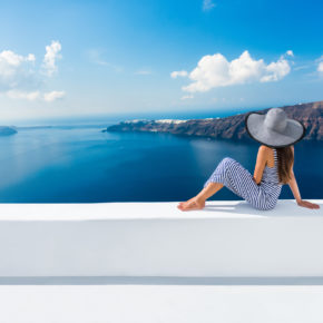 Traumhaft: 8 Tage auf Santorini mit TOP Hotel & Direktflug nur 107€