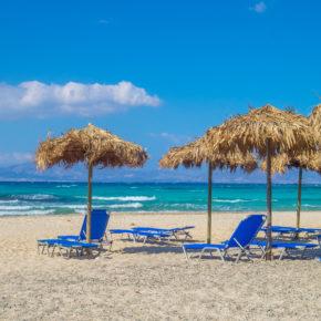 Griechenland: 7 Tage All Inclusive im 3* Hotel am Strand inkl. Flug nur 252€