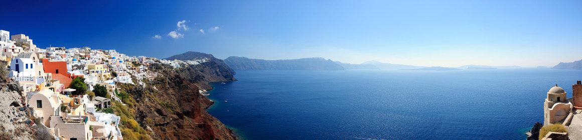 Frühbucher: 8 Tage Santorini im 3* Hotel inkl. Flug um 205€