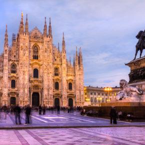 Italien: 3 Tage Kurztrip nach Mailand mit TOP 3* Hotel & Flug nur 104€