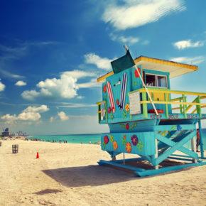 Sunshine State: 7 Tage Miami Beach im tollen 4* Strandhotel mit Flug & Frühstück um 580€
