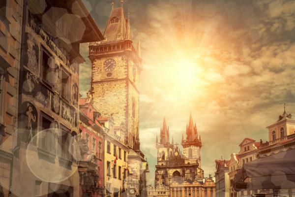 Prag in der Sonne