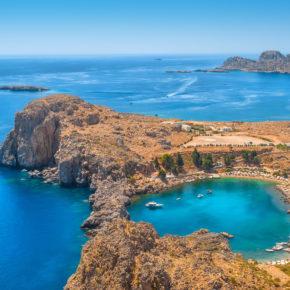 7 Tage Rhodos mit 4* Hotel, Halbpension, Flug & Transfer nur 287€