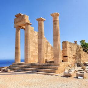 Günstig nach Griechenland: Flug nach Rhodos um 8€