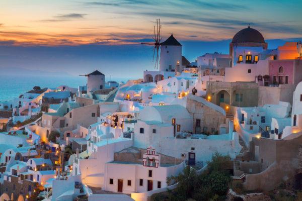 Santorini Sonnenuntergang