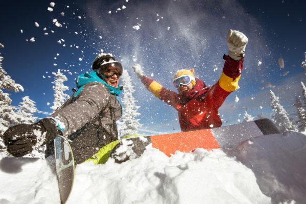 Schnee Spaß im Skiurlaub