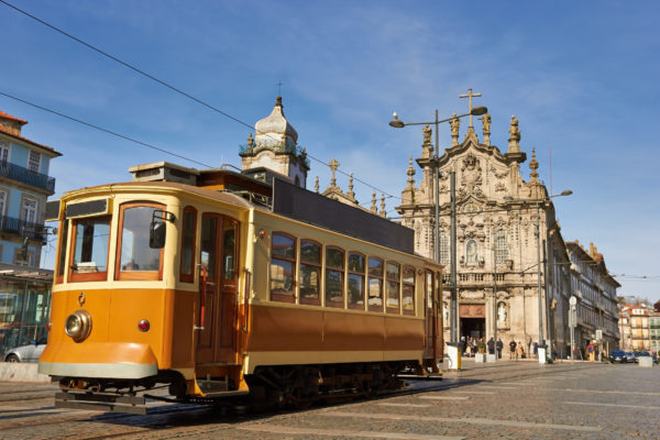 Alte Straßenbahn Porto