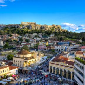 Athen Akropolis Antike