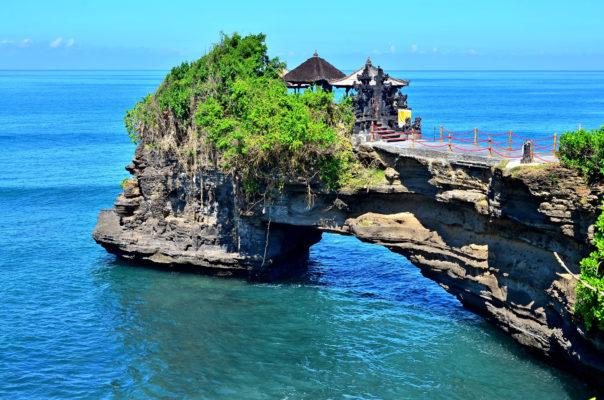 Bali Steinbrücke
