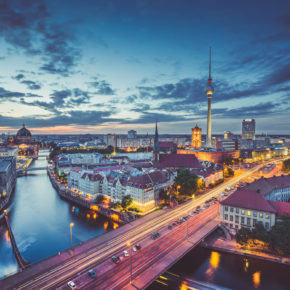Wochenendtrip nach Berlin: 3 Tage im sehr zentralen Hostel mit Flug nur 57€