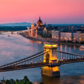 Budapest über Silvester: 2 Tage in zentraler Unterkunft für 15€