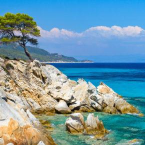 Griechenland: 8 Tage Chalkidiki mit Unterkunft in Strandnähe & Flug nur 75€