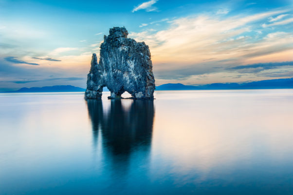 Island Meer Stein