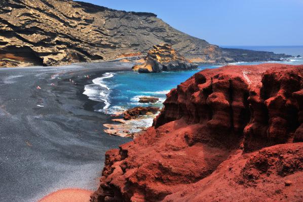 Lanzarote Gulf El Golfo