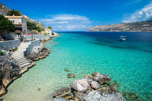 Peloponnes Meer