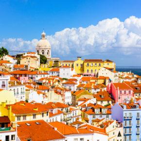 Städtetrip: 3 Tage Lissabon im zentralen 4* Hotel & Flug nur 88€