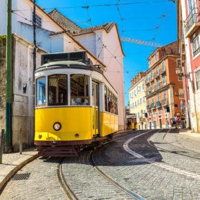 Städtetrip Lissabon: 3 Tage in Portugal mit TOP zentraler Unterkunft & Flug nur 98€
