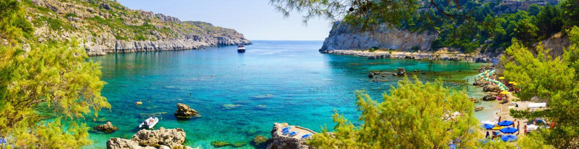 Wochenende: 4 Tage Rhodos mit 4* Hotel, Frühstück & Flug nur 99€