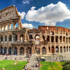 Rom über's Wochenende: 3 Tage Italien im Sommer in Unterkunft mit Frühstück sowie Flug nur 68€