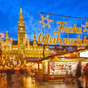 Christkindlmarkt in Wien: 2 Tage im zentralen 4* Hotel inkl. Frühstück für 35€