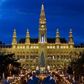 Christkindlmarkt: 2 Tage in Wien im 4* Hotel für 24€
