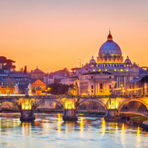 Wochenende in Italien: 3 Tage Rom im Hotel mit Frühstück & Flug nur 60€
