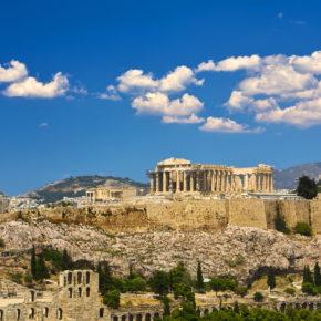 Übers Wochenende in Athen: 4 Tage im zentralen Hotel inkl. Frühstück & Flug nur 75€