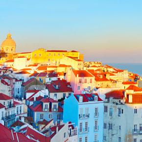 Wochenende in Lissabon: 3 Tage Städtetrip mit Unterkunft & Flug nur 85€