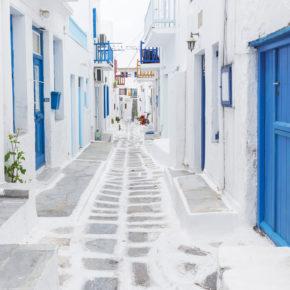 Urlaub auf Mykonos: 5 Tage Griechenland mit Unterkunft in Strandnähe & Flug für 170€
