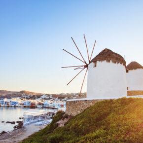 Griechenland Frühbucher: 8 Tage Mykonos im 4* Hotel mit Flug nur 277€