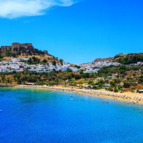 Luxus: 7 Tage auf Rhodos im TOP 5* Resort mit All Inclusive & Flug für 730€