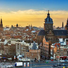 Amsterdam: Tagestrip mit Hin- & Rückflug nur 64€