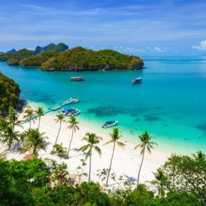 Thailand: 13 Tage Koh Samui mit Flügen & Unterkunft am Strand für 403€