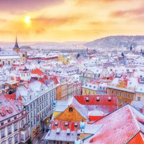 Prag-Wochenende im Winter: 3 Tage im zentralen 4.5* Hotel mit Frühstück & BIER-FLATRATE nur 63€