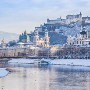 Winterwunderland: 2 Tage Salzburg im zentralen TOP 4* Hotel nur 38€