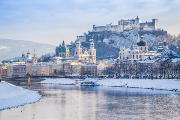 Salzburg Winter Ausblick