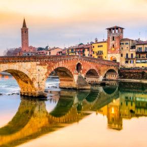 Italien Rundreise: 8 Tage in Venedig, Verona & Florenz in 4* Hotels mit Frühstück & Weinverkostung ab 199€