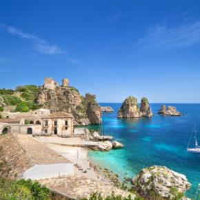 Frühbucher Sizilien: 8 Tage mit Ferienhaus & Flug nur 88€