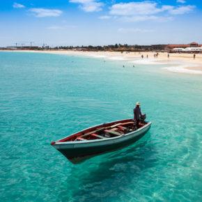 Insel Sal: 7 Tage Kap Verde im 4* Hotel mit Frühstück, Flug & Transfer um 459€