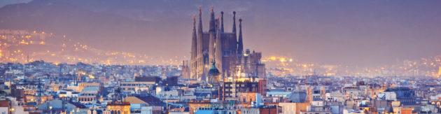Spanien Barcelona Panorama