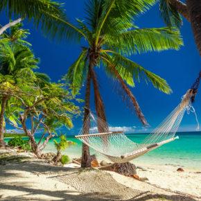 14 Tage! Flüge auf die Fidschi Inseln mit Gepäck um 986€