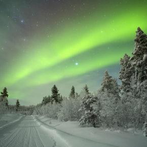 Wochenende bei den Polarlichtern: 2 Tage Finnland im exklusiven Glas-Iglu mit Frühstück nur 245€