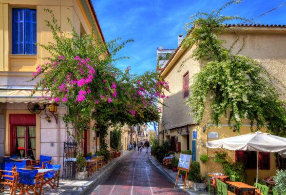 Griechenland Athen Gasse
