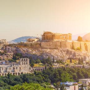 Wochenende in Athen: 4 Tage in zentraler Unterkunft mit Flug nur 61€
