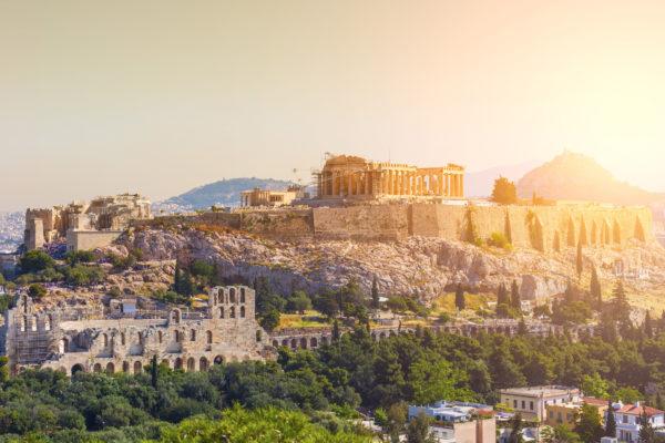Griechenland Athen Panthenon